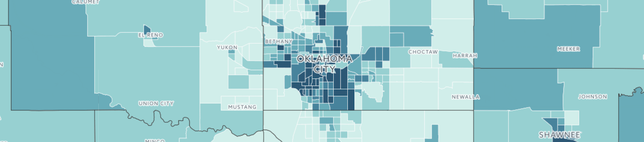 Oklahoma poverty map